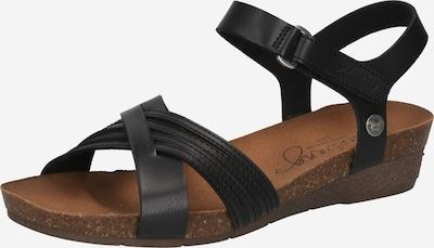 MUSTANG Sandales en noir, Vue avec produit