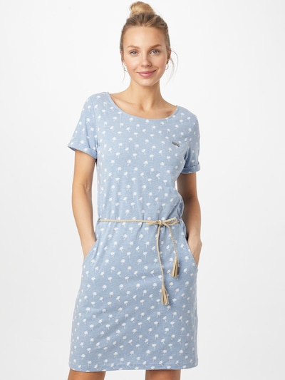 WLD Dress 'BIRD FLYING HIGH' in Blue / White, View model