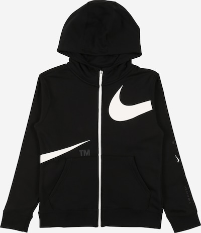 Nike Sportswear Gornji dio trenirke u crna / bijela, Pregled proizvoda