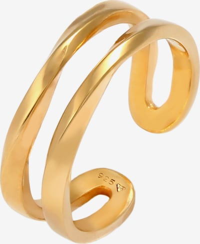 ELLI Ring Organic in gold, Produktansicht