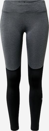 NIKE Spodnie sportowe 'Fast Warm' w kolorze czarny / srebrnym, Podgląd produktu
