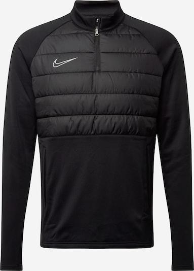 Sportinio tipo megztinis iš NIKE , spalva - pilka / juoda: Vaizdas iš priekio