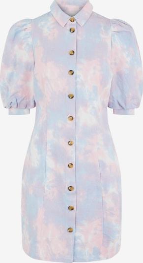 PIECES Košilové šaty - světlemodrá / světle fialová / světle růžová, Produkt