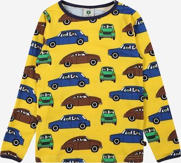T-Shirt 'Cars' Småfolk en jaune