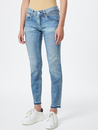 Jeans Herrlicher pe albastru denim, Vizualizare model