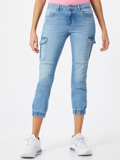 ONLY Klapptaskutega teksapüksid 'MISSOURI' sinine denim, Modellivaade