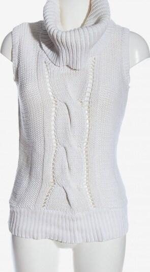 Tally Weijl Feinstrickpullunder in XL in weiß, Produktansicht
