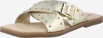 Steven New York Pantolette 'Sanny ' in gold, Produktansicht