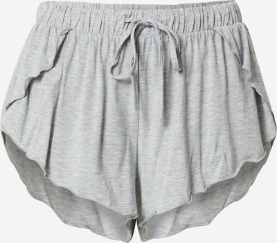 Free People Pantalon de pyjama 'THE ESSENTIAL SHORT' en gris chiné, Vue avec produit