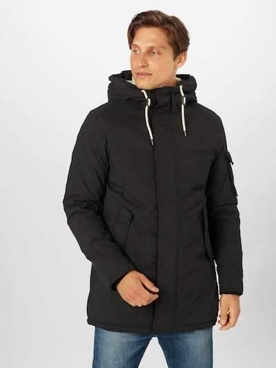 JACK & JONES Vinterparka 'Sure' i sort: Frontvisning
