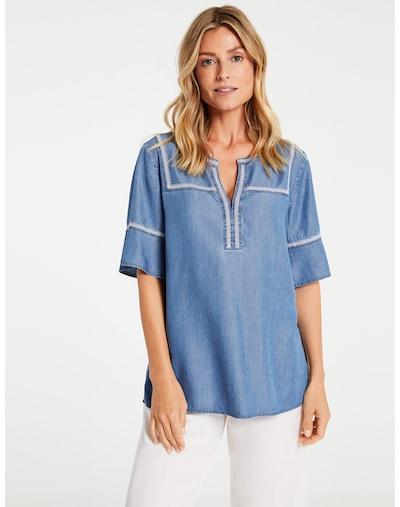 GERRY WEBER Bluse in blau, Modelansicht