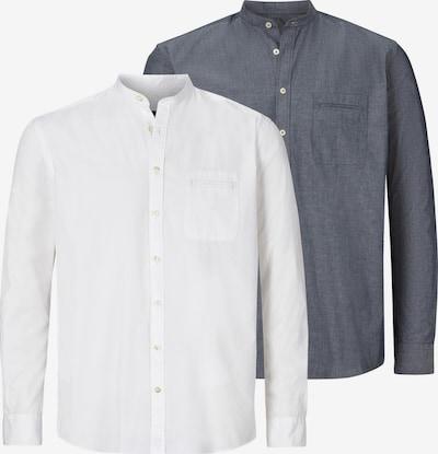 Jan Vanderstorm Hemd 'Heimir' in grau / weiß, Produktansicht