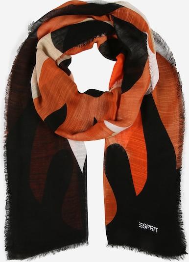 sötét narancssárga / fekete / fehér ESPRIT Sál, Termék nézet