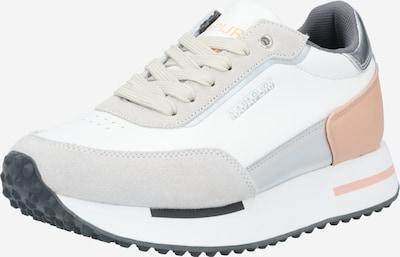 NAPAPIJRI Tenisky 'HAZEL01' - světle šedá / starorůžová / stříbrná / bílá, Produkt