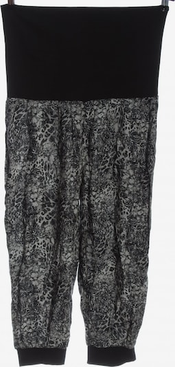Janina Baggy Pants in L in hellgrau / schwarz, Produktansicht