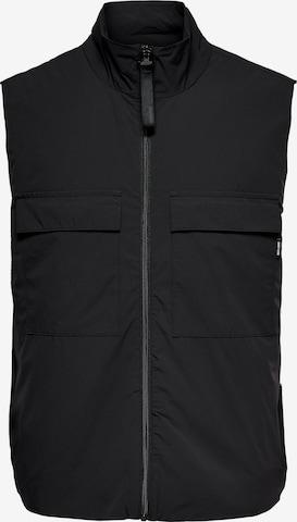Only & Sons Vest 'Shepard' in Black