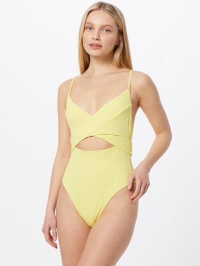 River Island Maillot de bain en jaune clair, Vue avec modèle