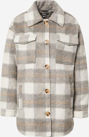 Missguided Prechodná bunda - béžová / sivá / biela, Produkt