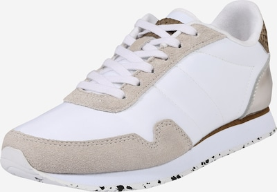 WODEN Sneakers low 'Nora III' in Brown / Light brown / White, Item view