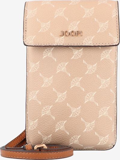 JOOP! Protection pour smartphone 'Cortina Pippa' en crème / caramel / poudre, Vue avec produit