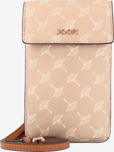 JOOP! Smartphonehülle 'Cortina Pippa' in creme / karamell / puder, Produktansicht