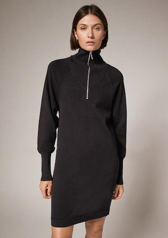 COMMA Kleid in Schwarz