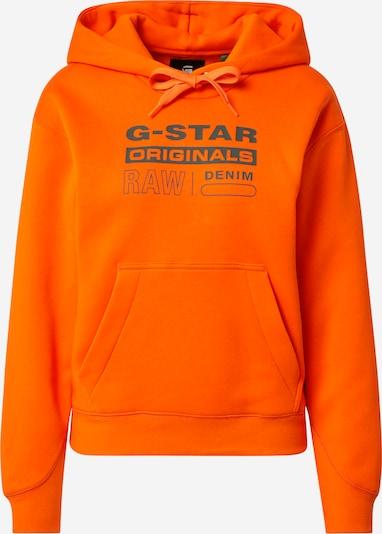 G-Star RAW Sweatshirt in blau / orange, Produktansicht