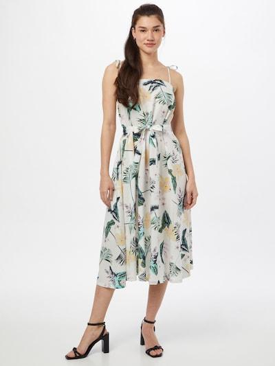 ROXY Letní šaty 'NOWHERE TO HIDE' - pastelově žlutá / nefritová / trávově zelená / orchidej / bílá, Model/ka