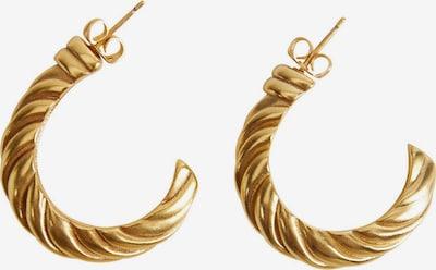 MANGO Uhani 'Brian' | zlata barva, Prikaz izdelka