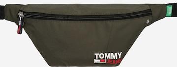 zaļš Tommy Jeans Jostas soma 'Campus'
