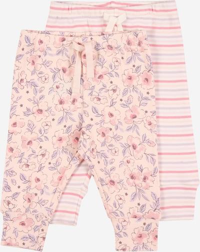 Pantaloni GAP pe culori mixte / roz / alb, Vizualizare produs