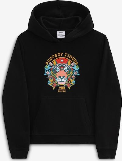 VANS Sweatshirt i blå / gul / röd / svart, Produktvy