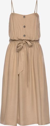 LASCANA Kleid in camel, Produktansicht
