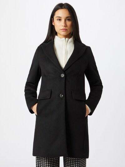 s.Oliver BLACK LABEL Mantel in schwarz, Modelansicht