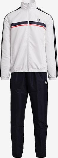 Sergio Tacchini Trainingsanzug 'AGAVE TRACKSUIT' in dunkelblau / rot / weiß, Produktansicht