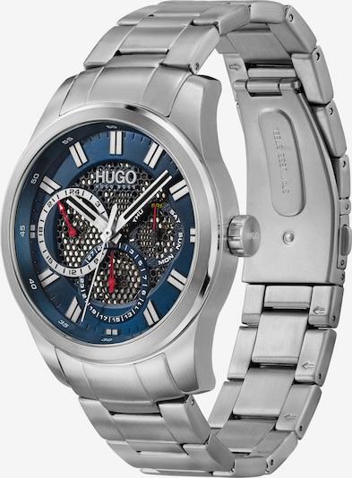 HUGO Analoginen kello värissä tummansininen / punainen / musta / hopea / valkoinen, Tuotenäkymä