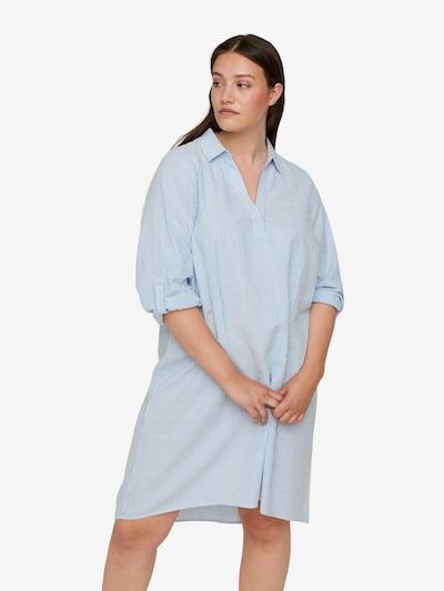 Zizzi Kleid 'Mlene' in himmelblau, Modelansicht