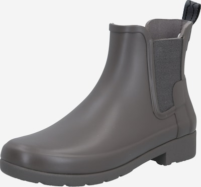 HUNTER Rubber boot in Grey, Item view