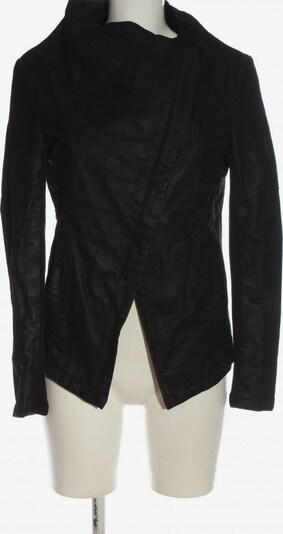H&M Kunstlederjacke in M in schwarz, Produktansicht