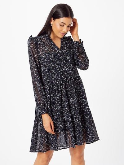 rosemunde Kleid in nachtblau / schwarz / weiß, Modelansicht