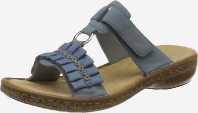 RIEKER Sandaal in de kleur Azuur, Productweergave