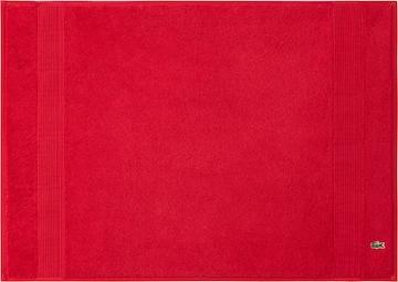 LACOSTE Bathmat 'LE CROCO' in Red