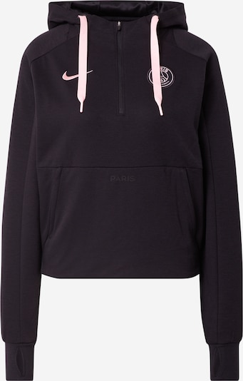 NIKE Sportsweatshirt 'Paris Saint-Germain' i pastelpink / sort, Produktvisning