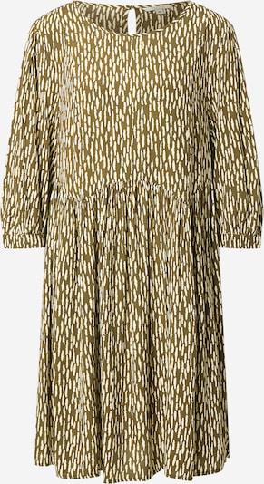 comma casual identity Kleid in de kleur Beige / Groen, Productweergave