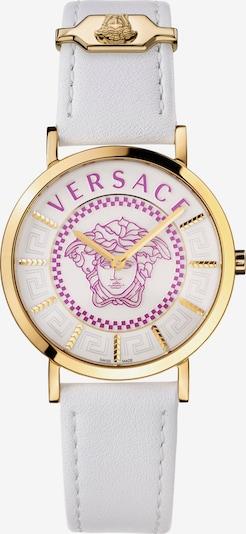 VERSACE Versace Schweizer Uhr in gold / weiß, Produktansicht