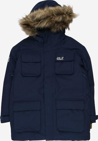 JACK WOLFSKIN Outdoorjacke 'Ice Explorer' in Blau