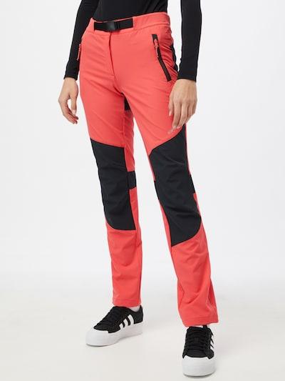 ICEPEAK Ulkoiluhousut värissä vanha roosa / musta / valkoinen: Näkymä edestä