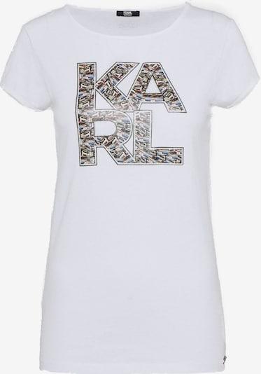 Karl Lagerfeld Shirt ' Graphic ' in mischfarben / weiß, Produktansicht