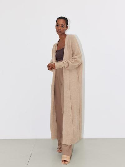 LeGer by Lena Gercke Knitted Coat 'Gabriele' in mottled beige, View model
