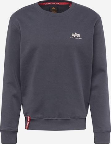 ALPHA INDUSTRIESSweater majica - siva boja